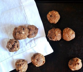 Ashwagandha Cookie Dough Balls