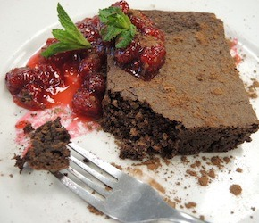 Big Carrot's Organic Gluten-Free Brownie