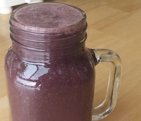 Blueberry & Zucchini Smoothie
