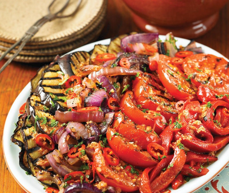 Catalonian Grilled Vegetable Salad (Escalivada)