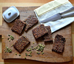 Easy Peasy Seedy Crackers