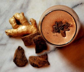 Ginger Chocolate Truffle Smoothie