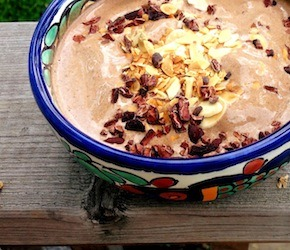 Hemp Banana Cocoa Smoothie Bowl