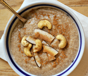 Licorice Spiced Buckwheat Hot Cereal