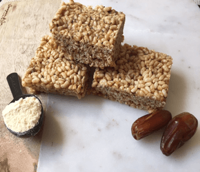 Protein Rich Crispy Squares