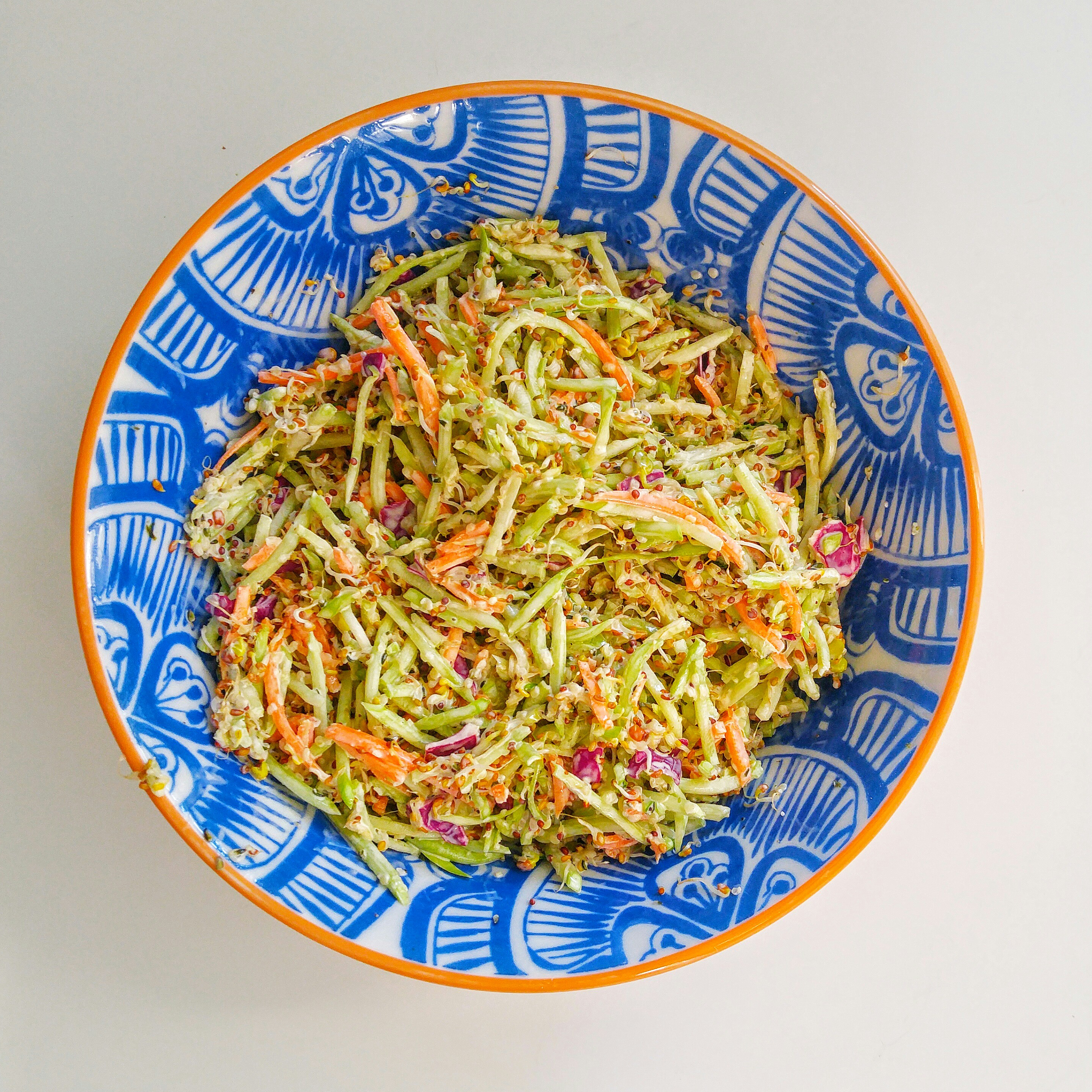 Super Seedy Broccoli Slaw