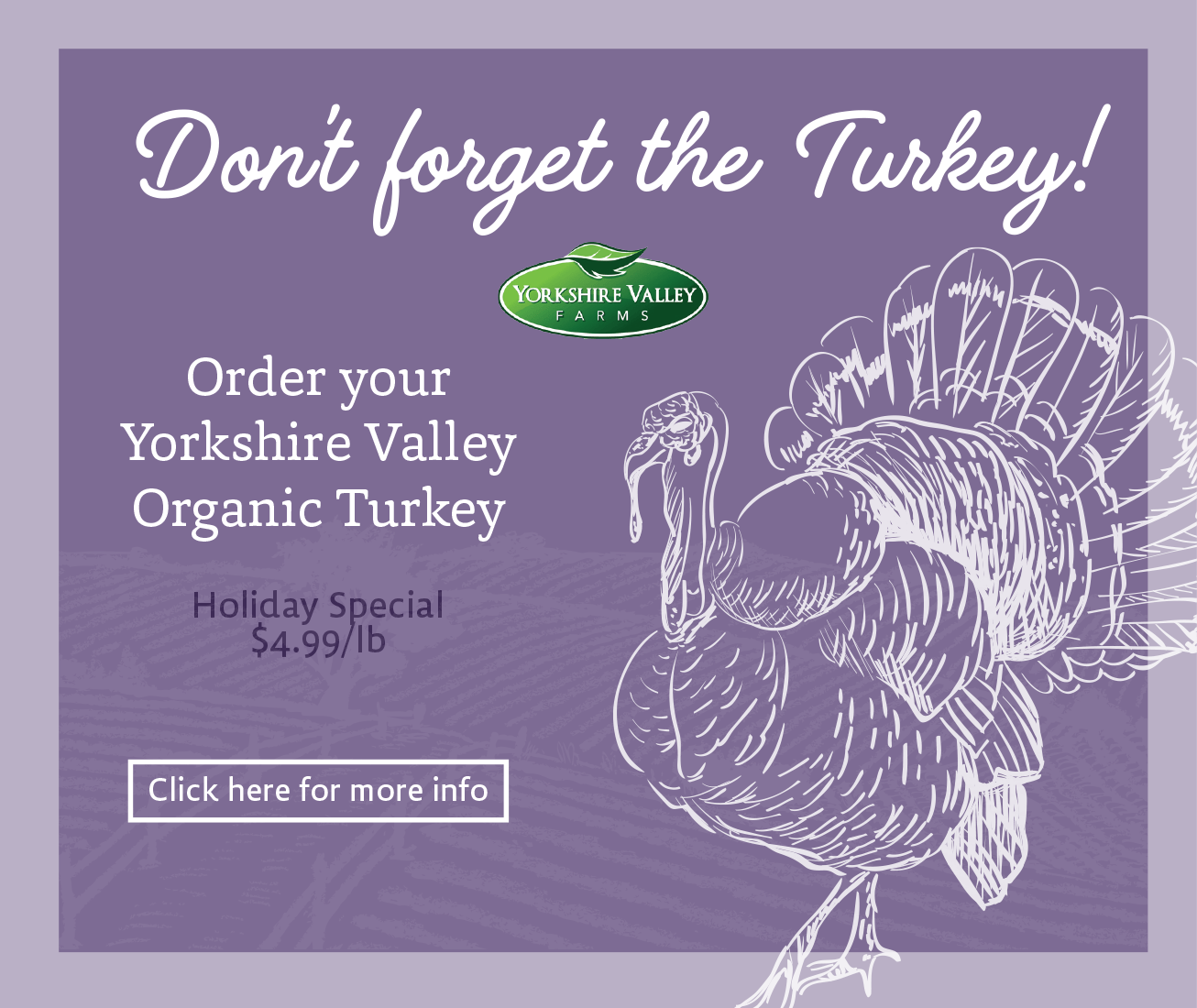 How To Order Your Thanksgiving Turkey