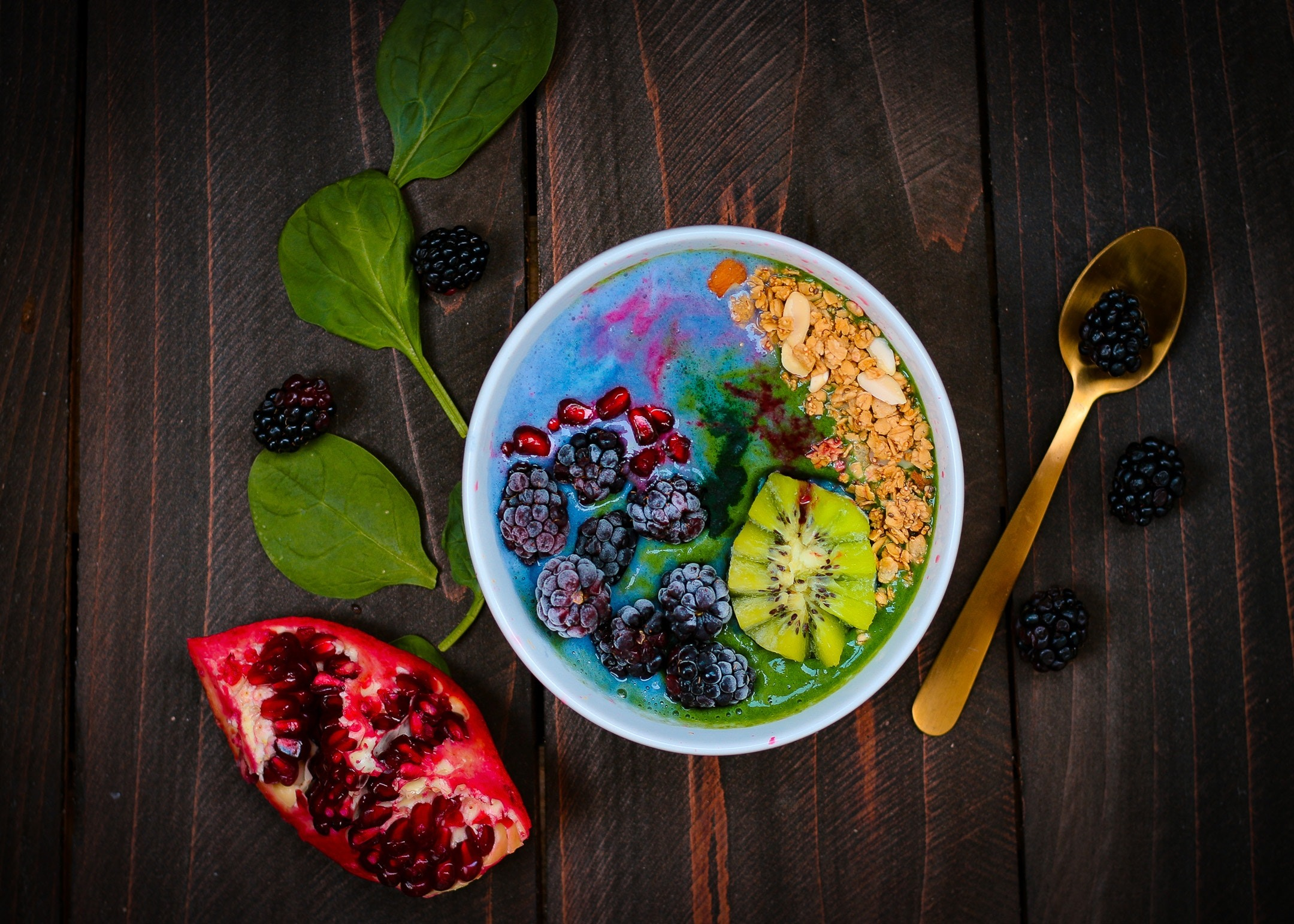 Healthy balanced foods help your body the find the equilibrium it craves