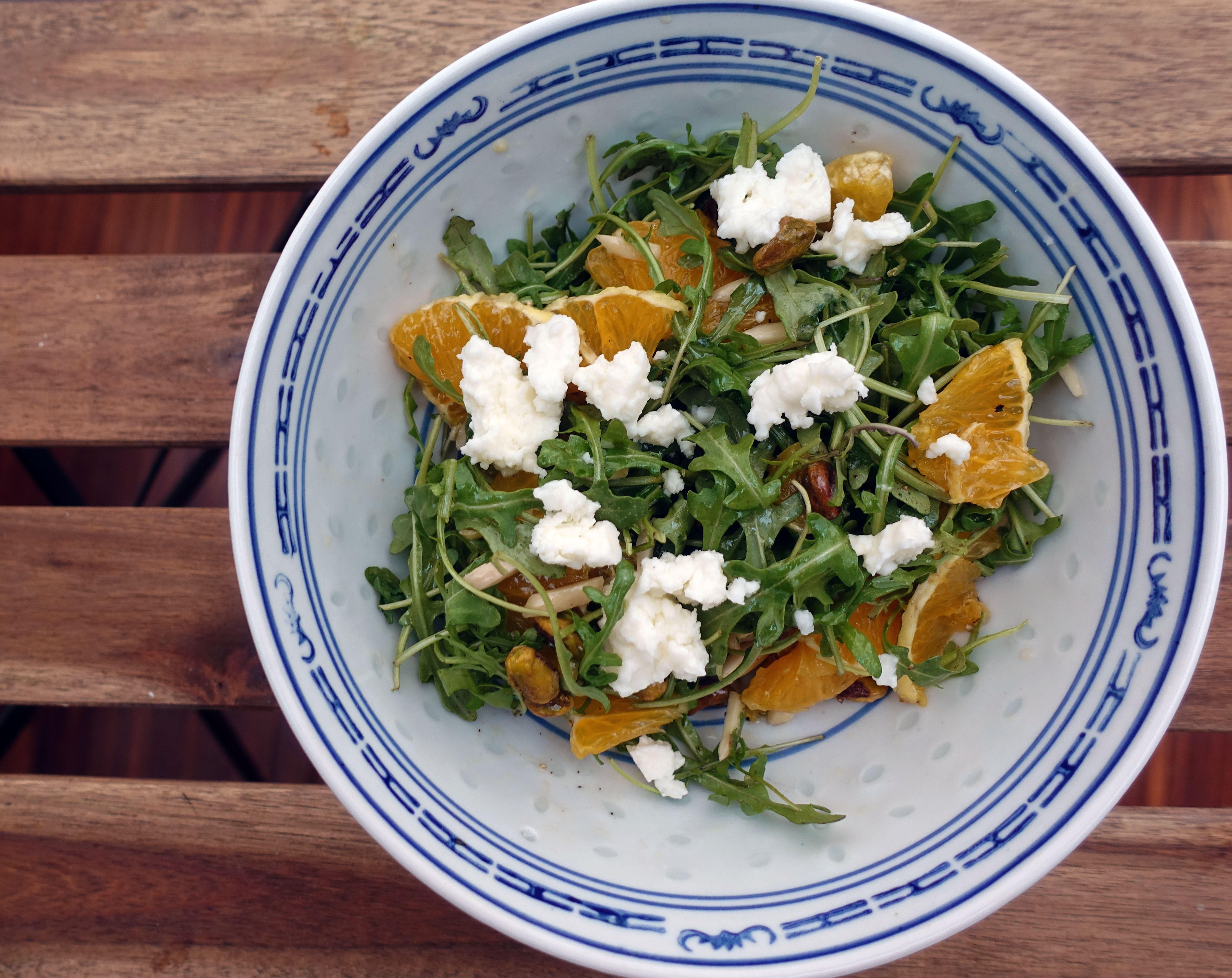 Arugula and Orange Salad
